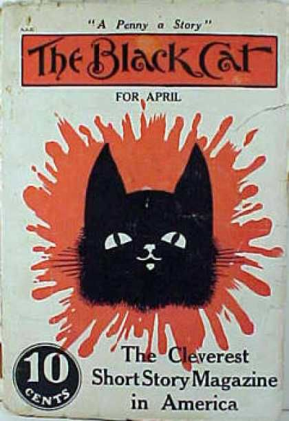 Black Cat magazine, founded by Herman D. Umbstaetter in Boston in 1895