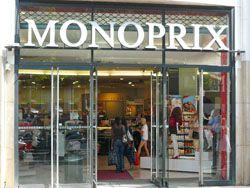 Monoprix clothes and food store on the Champs Elysées, Paris answer to Target