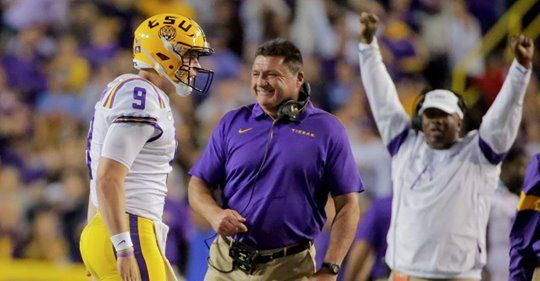 Tinker Town Tiger Lsu Ad Ed Orgeron Has Skill That Sets Him Apart College Football Coaches Lsu Football Coach