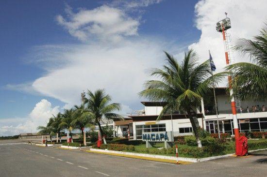 Aeroporto Internacional de Macapá 550x366 Aeroporto Internacional de Macapá   Fotos Vôos