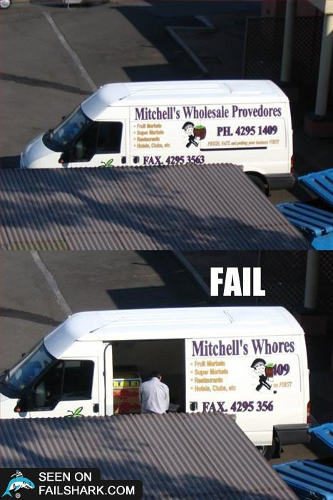 Company name change (from sliding van door)  :D