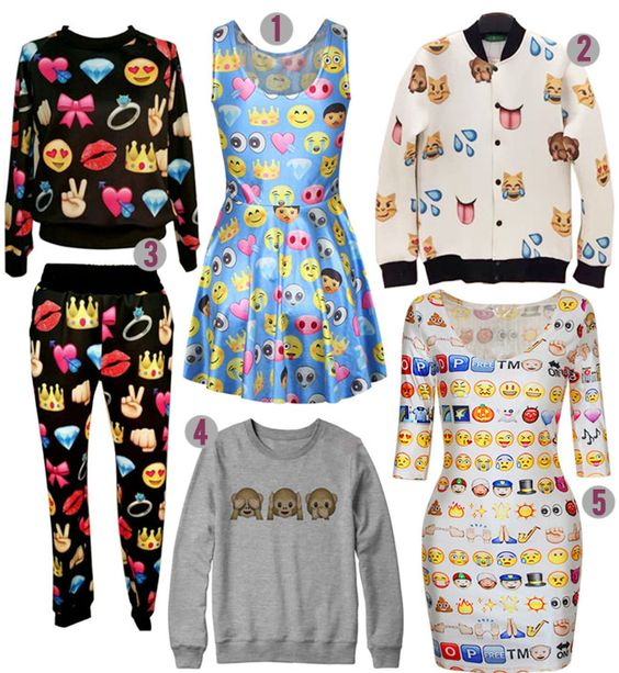 emoji clothing - Google Search