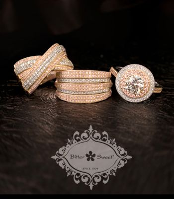 ... Bitter Sweet Jewellery. #Toronto #Gold #14K #Pave #luxury #fashion #
