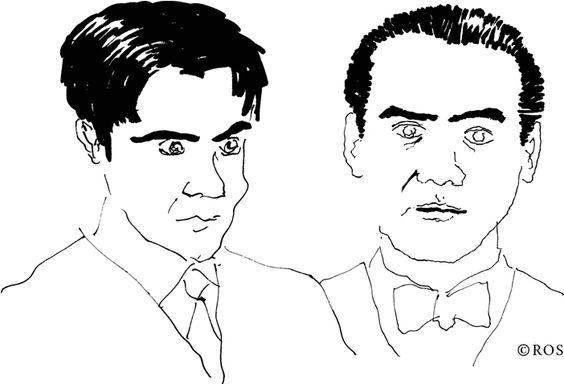 Ilustraciones sobre Lorca, © Ros