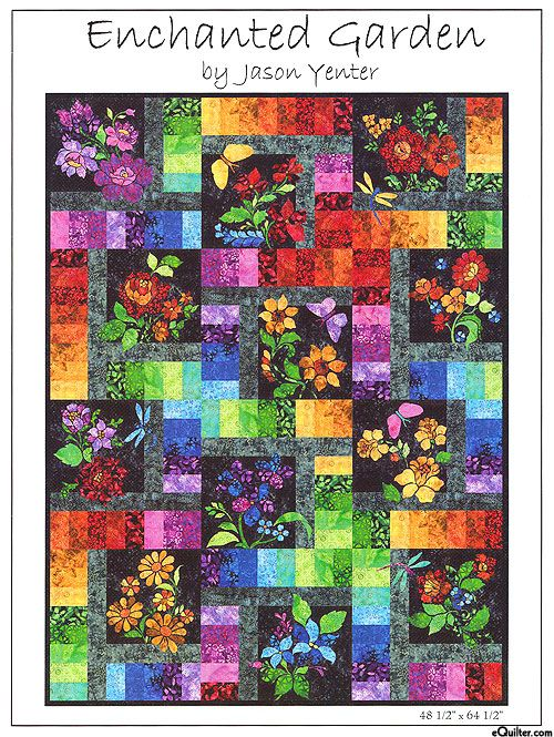 Enchanted Garden Block Of The Month Pattern Set From Www
