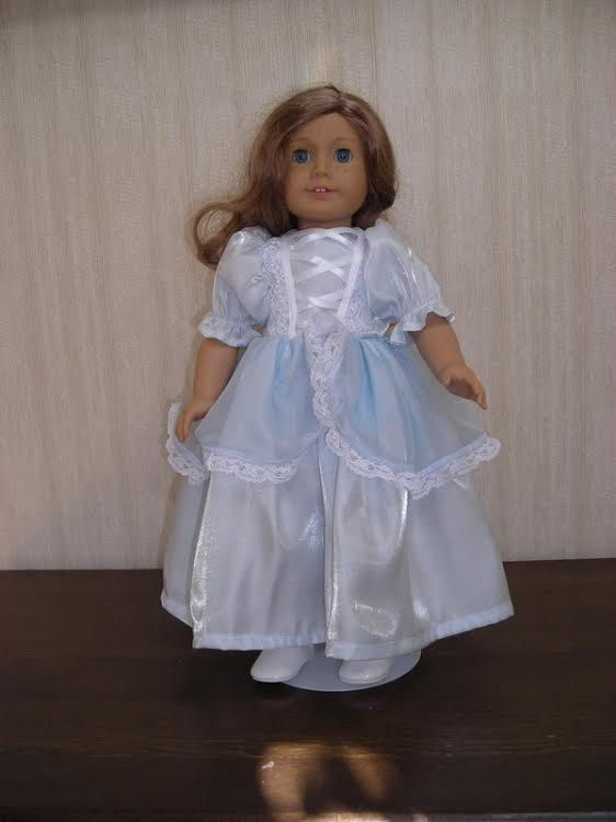 American Girl Doll Clothes 18 Doll Princess by DollClothesMore