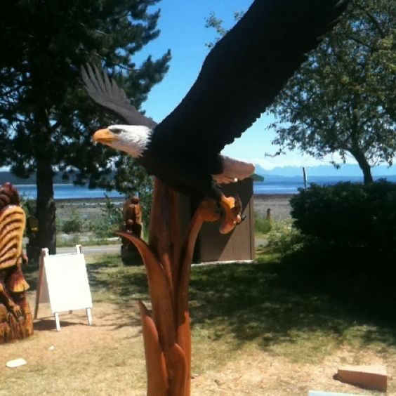 Viewing #Campbellriver Carvings By The Ocean Free via Qwiqq.me