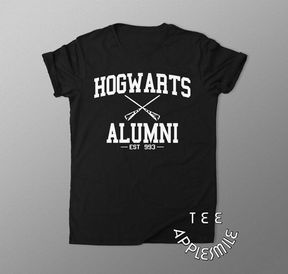 Hogwarts Alumni shirt Harry Potter t shirt tee by AppleSmileTee
