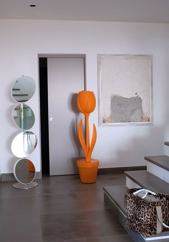 Bored of common furniture? What about this Tulip lamp?  'Tulip Lamp XL' by Myyour  #italy #italian #design #interiordesign #furniture #decor #designer #madeinitaly #italianstyle #italiandesign #interior #interiors #architecturelovers #designporn #myyour #orange #tulip #lamp #tulips #flower #flowers #light #lights #mirror #bag #staircase #door #instadesign #decoration #inspiration