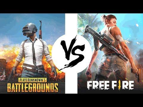 Pubg Mobile Vs Free Fire Chto To Izmenilos Sravnenie Veka Youtube Battle Royal Popular Games Battle Wallpaper free fire vs pubg