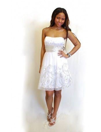 Moderne weibe kleider 2015