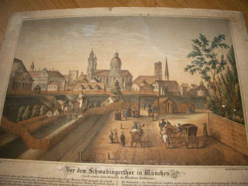 Carl-Hohfelder-Muenchener-Ansicht-um-1800