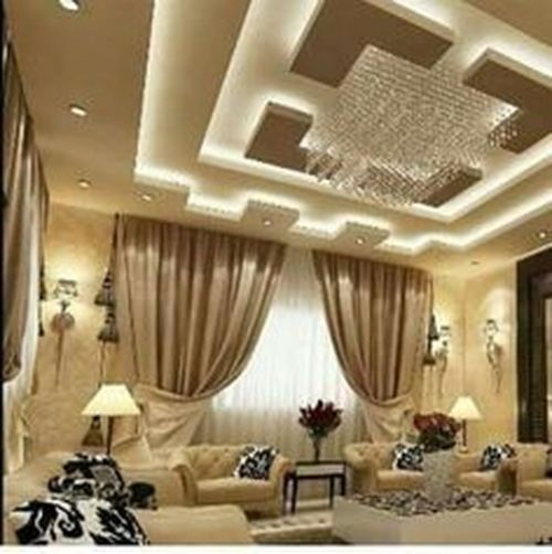 False Ceilings Design With Cove Lighting For Living Room 46 False Ceiling Design Ceiling Design Modern Ceiling Design Living Room