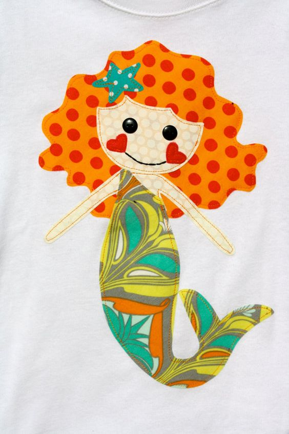 What a happy little mermaid!!