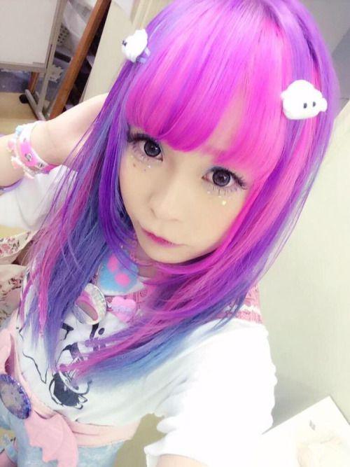 RT @lovetouhou39 空亜ちゃん せななんちゃん ころもちゃん みたいな髪の毛の色にしたぁいお みんなかぁいいよぉ http//flip.it/glRID