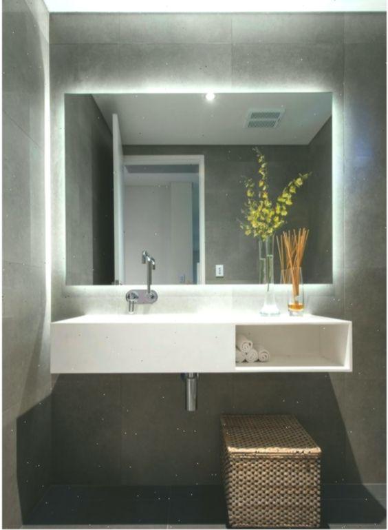 Twilight Rectangle Badezimmerspiegel Mit Led