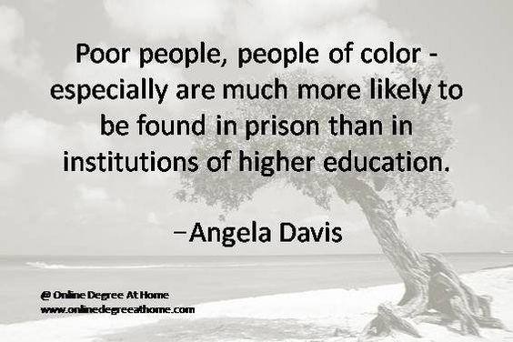 angela davis are prisons obsolete The prison therefore functions ideologically as an abstract site into which undesirables are deposited, relieving us of the responsibility of thinking about the real issues afflicting those communities from which prisoners are drawn in such disproportionate numbers this is the.