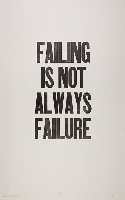 failing.