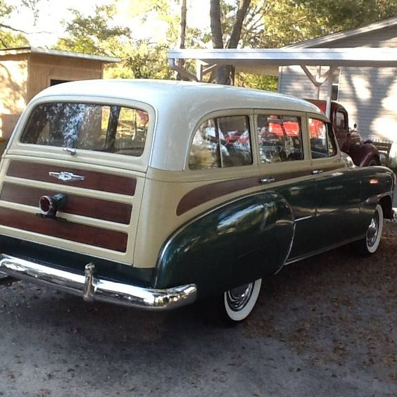 1951 Chevrolet Fleetline Woody Wagon Offered For Auction