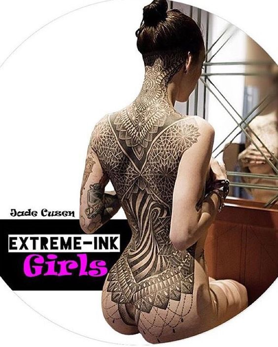 Tag who you want to see on Extreme Ink Girls #periscope next? - Feel free to tag yourself - Model:@mrscuzen - #extreme_ink #extremeink #extremeinkgirls #broadcast #live #to #the #world #famous #mayhem #tattooideas #alternativegirl #alternative #tattoo #tattooist #model #exposure #fun by extreme_ink