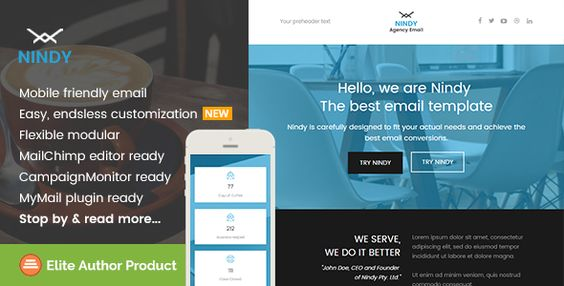 180 Absolute Best Responsive Email Templates - Freshmail - responsive email template