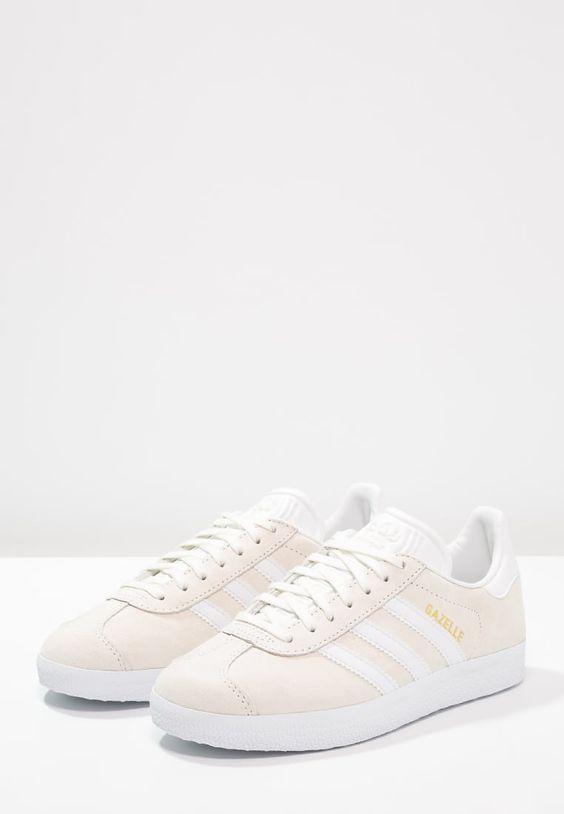 Gazelle Adidas Blanc Cassé