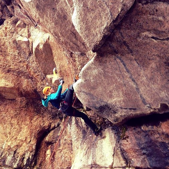 Jewell Lund #mixed Climbing #North Conway #MWVI   Photo by outdoorresearch
