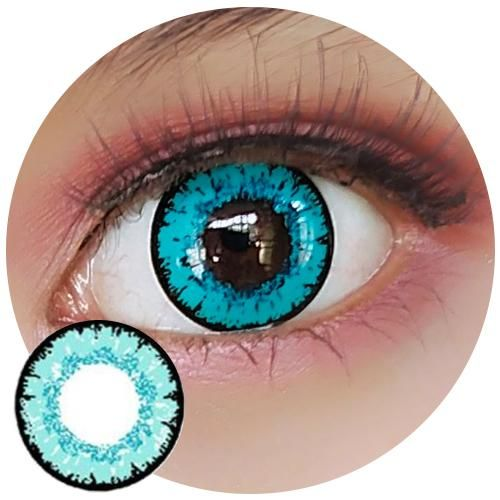 Sweety Queen Light Blue Contact Lenses Colored Colored Contact Lenses Halloween Colored Contacts