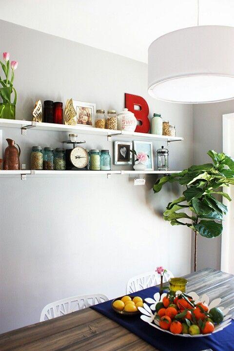 wall shelf dining room ideas for susan pinterest wall shelves dining rooms and shelves. Black Bedroom Furniture Sets. Home Design Ideas