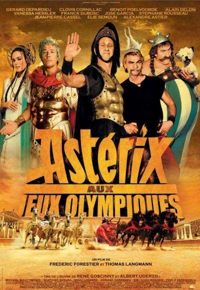 Asterix au Jeux Olypiques - 2008 Histoire inspirée de l'antiquité romaine.  Rivalité entre Gaulois et Romains.