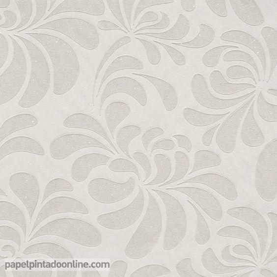 Papel pintado uptown up 07 06 3 con estampado floral en for Papel pintado estampado