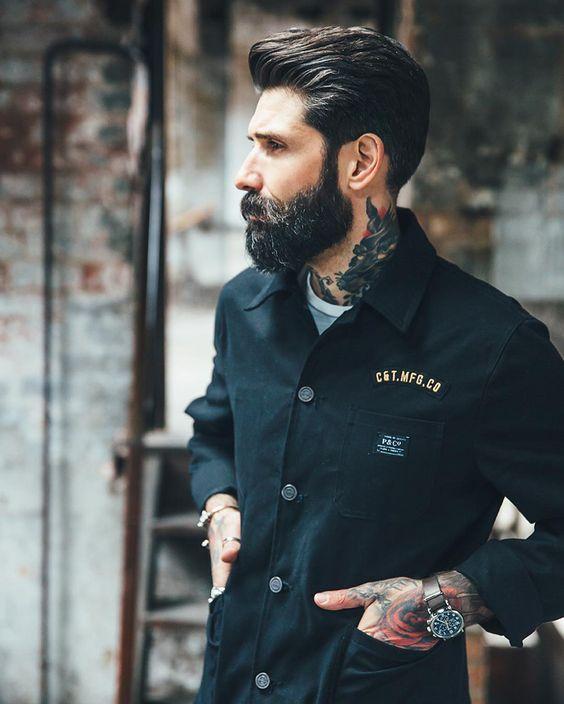 Surprising Beards Men39S Style And Tattoos And Body Art On Pinterest Short Hairstyles For Black Women Fulllsitofus