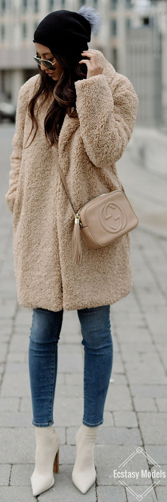 The Teddy Coat // Fashion Look by Not Your Standard: