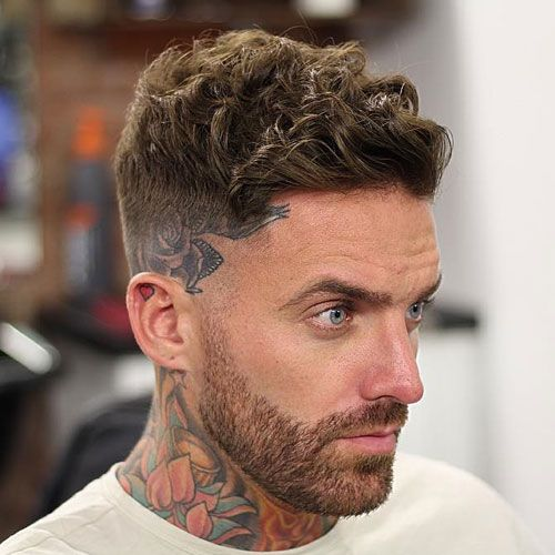 31 Cool Wavy Hairstyles For Men 2020 Haircut Styles Curly Hair Fade Mens Haircuts Short Cool Short Hairstyles