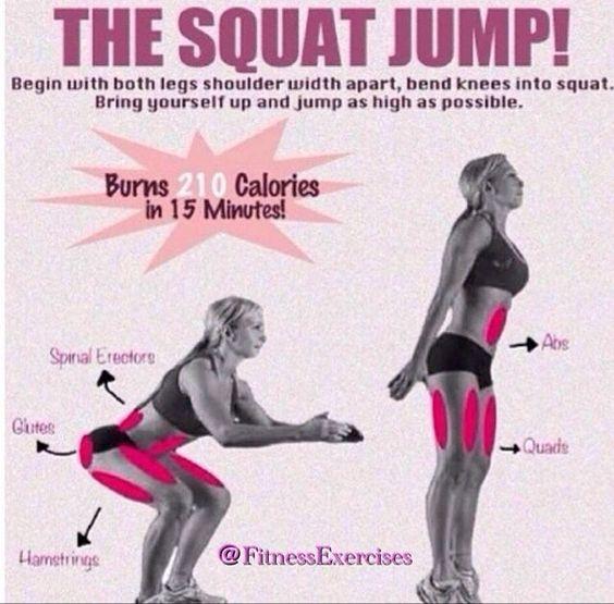The squat jump