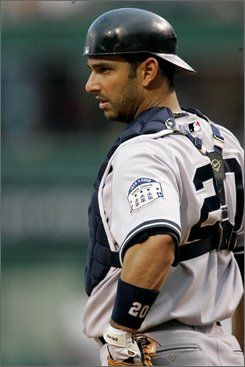 Hip Hip, Jorge! - Jorge Posada. I used to be in love with him when I was younger.