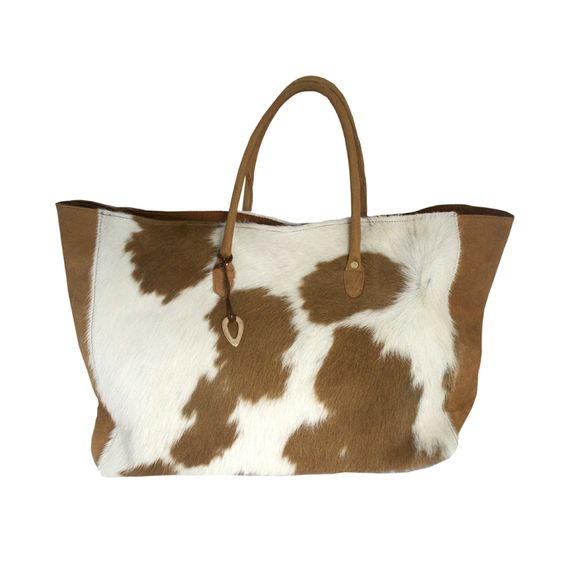 'Stefania' cow hide shopper. Our best seller. #Bags #jewellery #Africa www.adeledejak.com