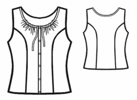 Crop Top Patterns also Free Patterns further The great british sewing bee moreover Haak Inspiratie moreover 74098356348700560. on circle blouse pattern