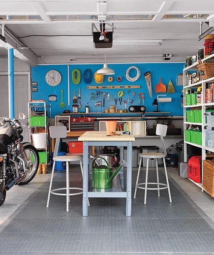 Garage Plus Workbench, area ides