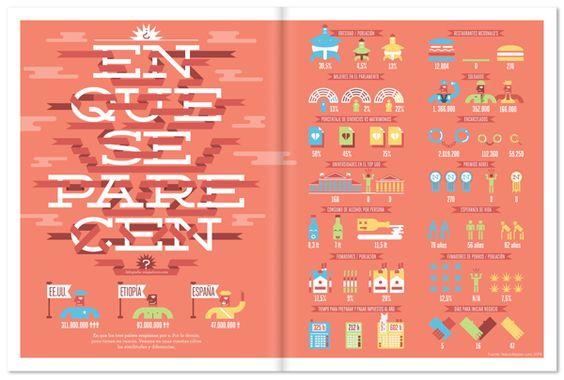 Yorokobu infographics 2012 by relajaelcoco , via Behance