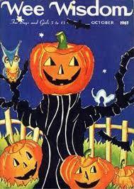 Vintage Halloween Magazine ~ Wee Wisdom © October 1963