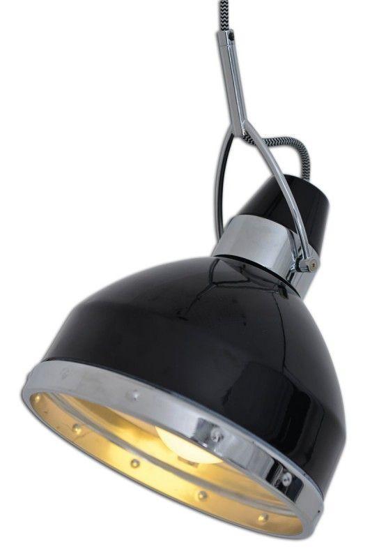 Hangeleuchte Im Retro Scheinwerfer Look Schwarz Nave Cottage 22 8cm E27 Nave Nach Marke Beleuchtung Led Gluhlampen Hangeleuchte Led Beleuchtung