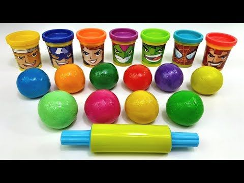 Learn Colors With Colored Balls Out Of Play Doh Making Figurines Learn Numbers Video For Kids Youtube Learning Colors Learning Numbers Number Videos