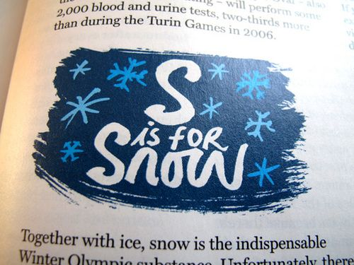 S is for Snow by Andy Smith