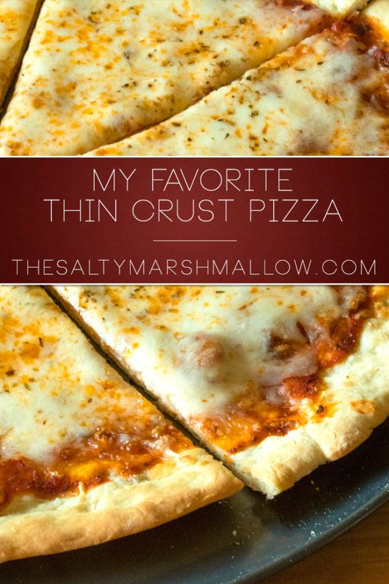 Perfectly foldable thin and crispy pizza crust! Easy to make no wait and no knead dough!