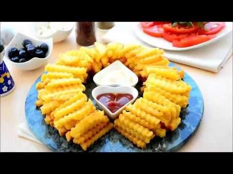 أصابع البطاطس المقلية اله شة Food Cooking Recipes Appetizer Platters