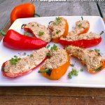 http://www.sumptuousspoonfuls.com/herb-gorgonzola-stuffed-sweet-peppers/
