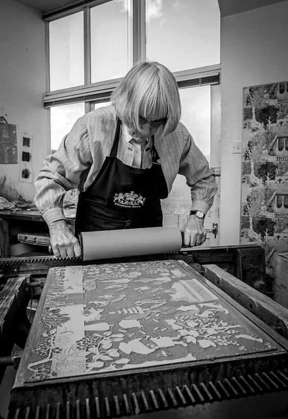 Marthe Armitage in her studio. - Vogue Living