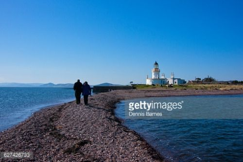Fortrose lighthouse, Black Isle, Moray Firth, Highland, Scotland... #fortrose: Fortrose lighthouse, Black Isle, Moray Firth,… #fortrose