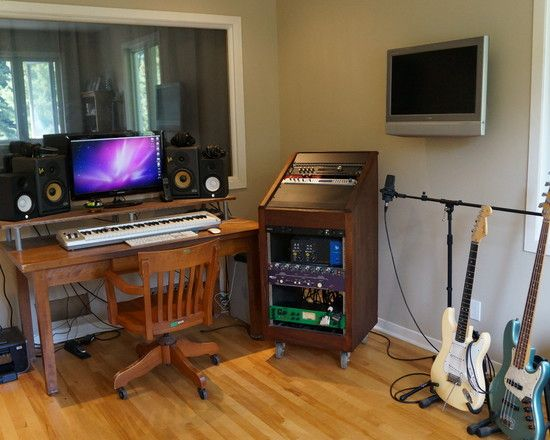 Inspiring home recording studio design home recording for Recording studio flooring